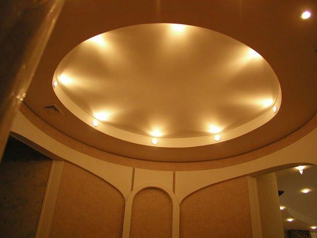 подсветка навесного потолка