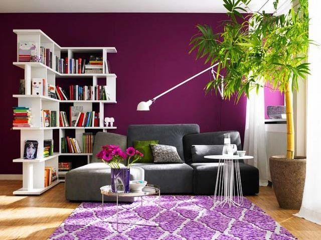 Пурпурный и фиолетовый цвет