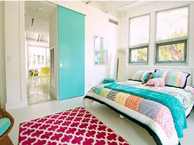 Спальня с розовым
