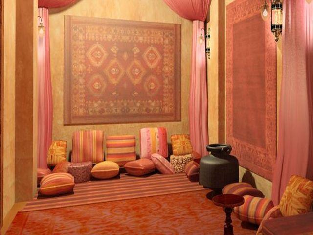 изобилие ковров в интерьере