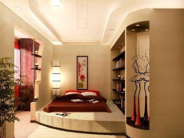 декоративный подиум в современном интерьере