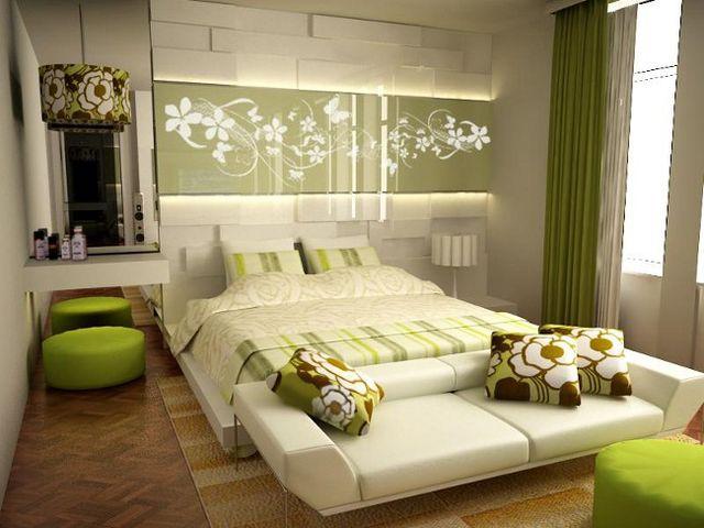 Симметрия в комнате с природным интерьером