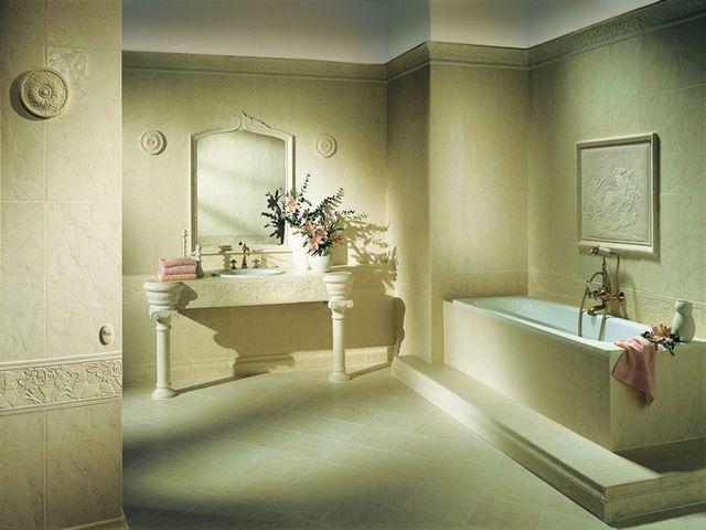 ванная комната в римском стиле