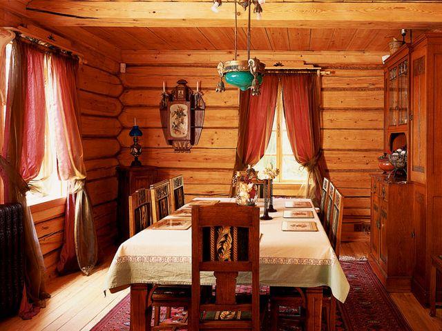 Старорусский стиль в интерьере