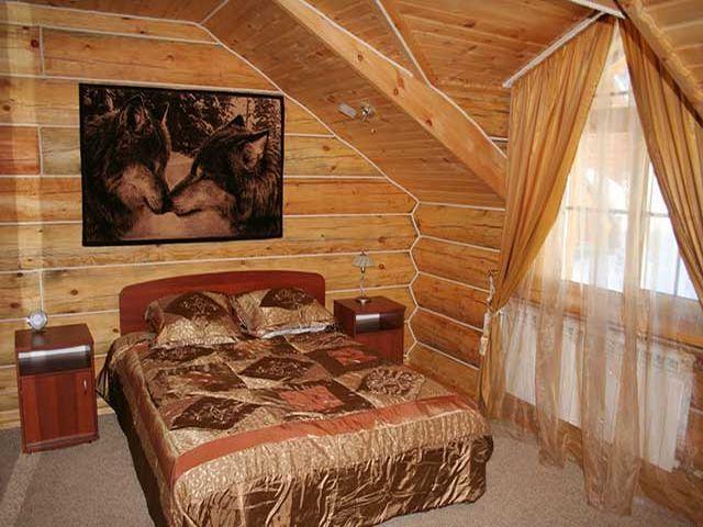 спальня в старорусском стиле