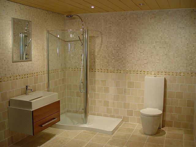 ванная комната в стиле средиземноморья