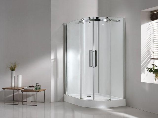 душевая кабинка в немецкой ванной