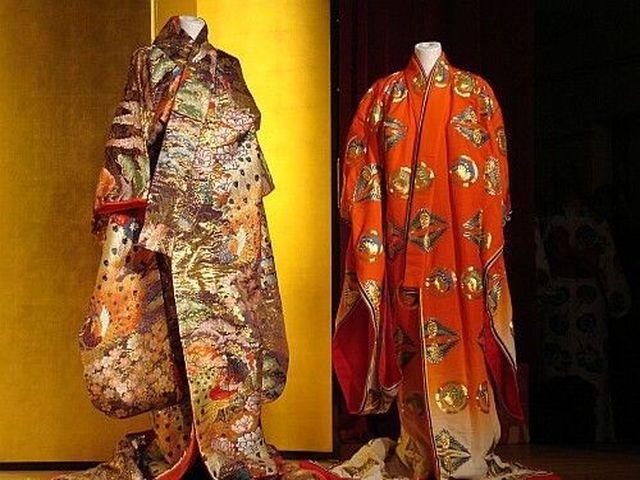 японское кимоно в качестве аксессуара