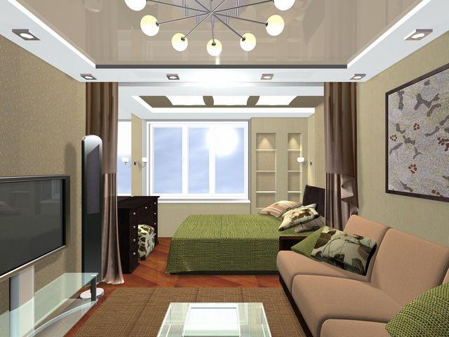 многофункциональная спальня
