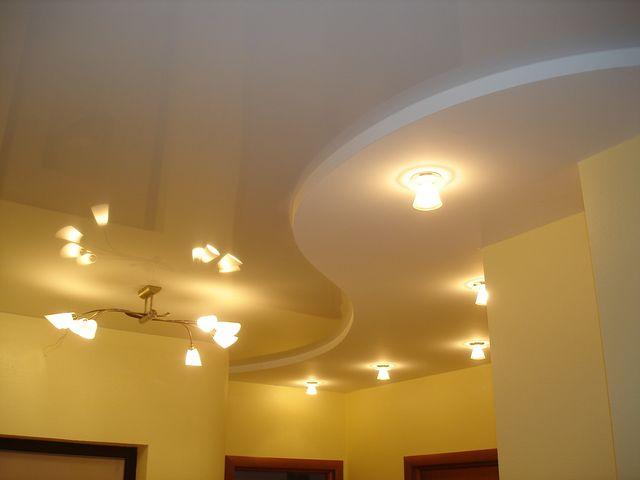 Двухуровневые потолки из гипсокартона своими руками