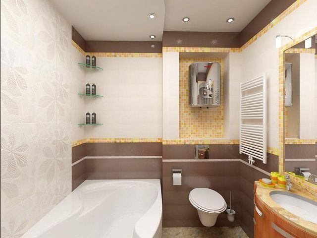 Дизайн ванной комнаты 6 кв м дизайн