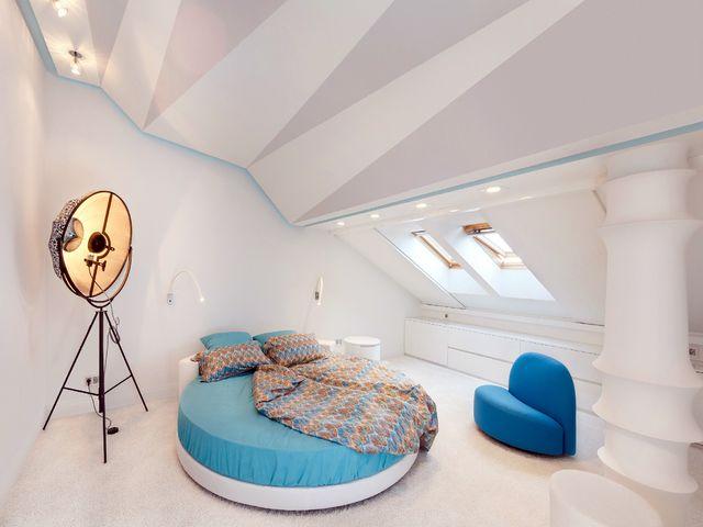 спальня музыканта в стиле китч