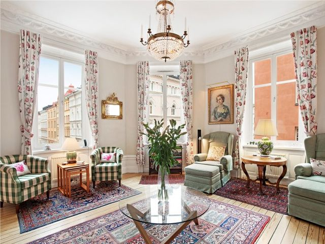 Традиционный интерьер британского дома