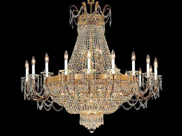 хрустальная люстра в венецианском стиле