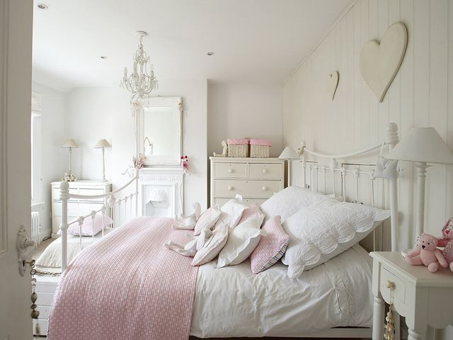 комната в стиле шебби шик