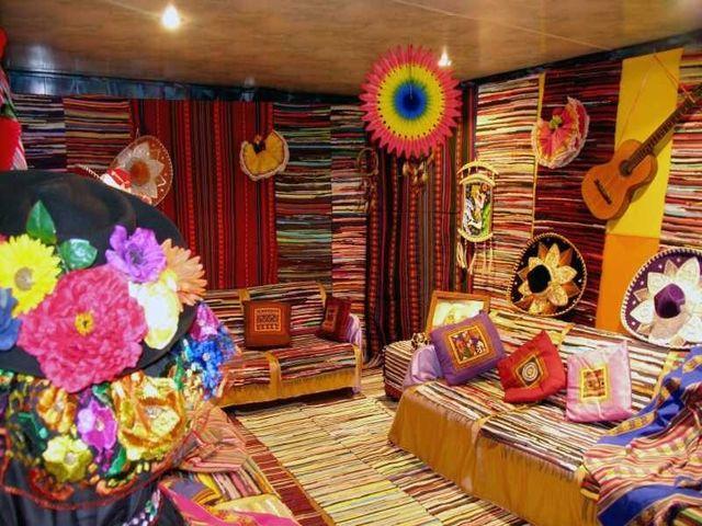 Национальные традиции в оформлении латиноамериканского интерьера