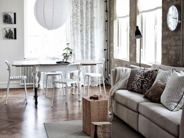 гостиная в финском стиле