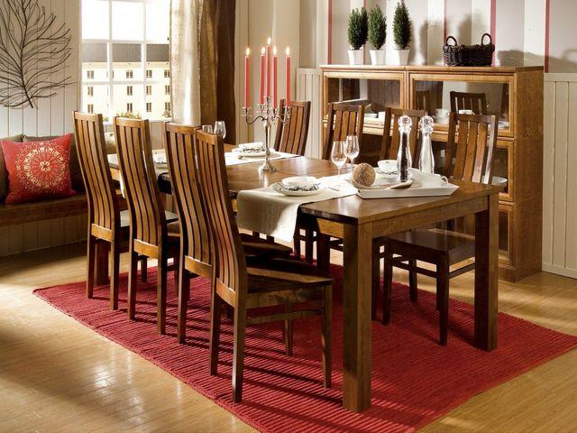 деревянная мебель на финской кухне
