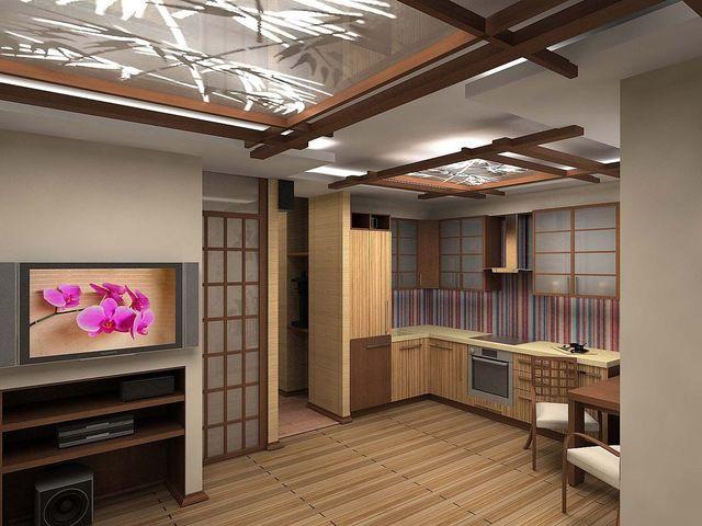 Квартира-студия в японском стиле