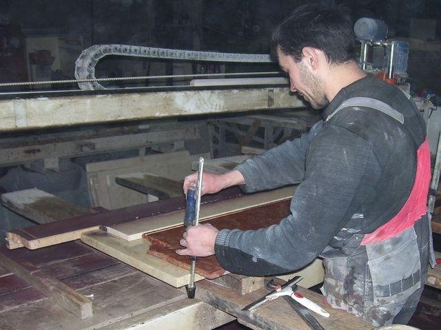 процесс изготовления мрамора из бетона