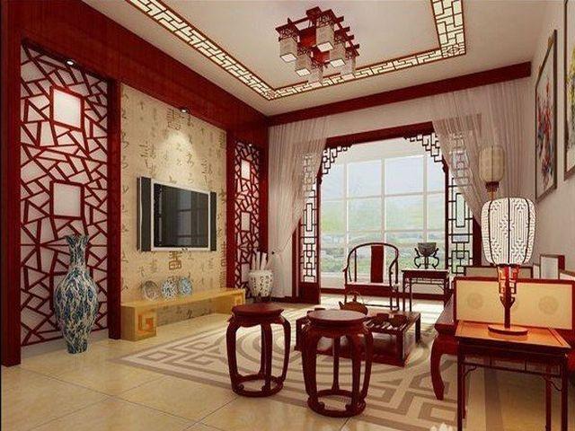 китайский столик с табуретками для чаепития