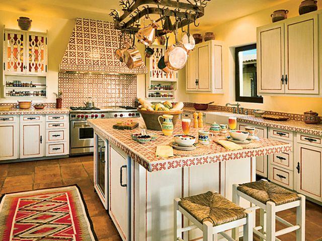 Экзотический дизайн кухни