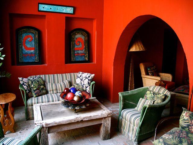 Гостиная в мексиканском стиле