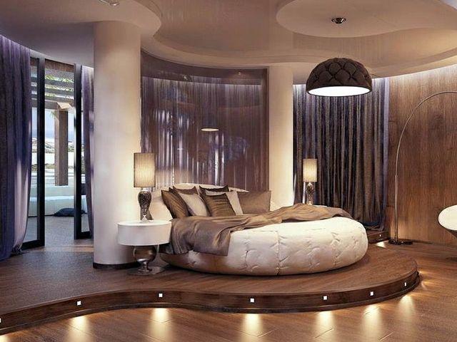 декоративный подиум в комнате