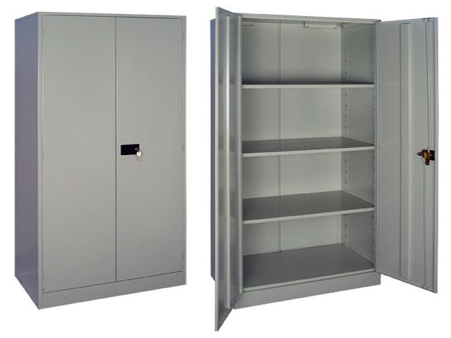 металлический шкаф