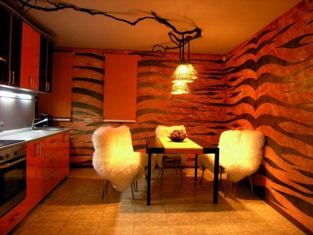 кухня в стиле сафари