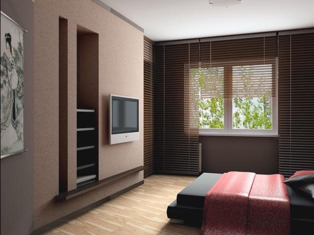 комната, совмещенная с лоджией в романтическом стиле