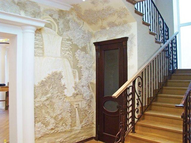 растительный орнамент в античном интерьере