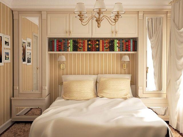 Лаконичный интерьер спальни 3 на 3