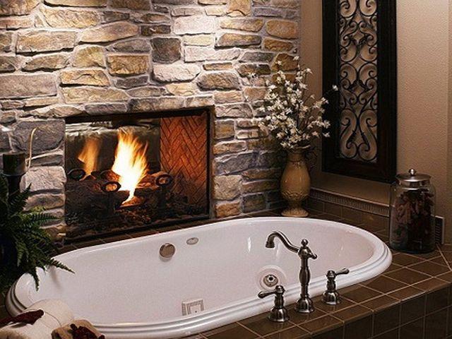 искусственный камень ванной комнате