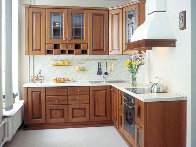 стильная мебель в интерьере маленькой кухни