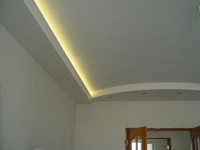 гипсокартоновый потолок и стены