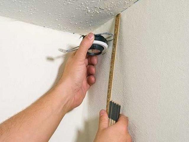 разметка потолка для крепления гипсокартона