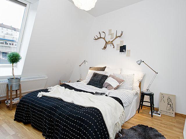 маленькая комната в шведском стиле