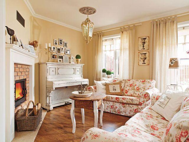 мебель в стиле шебби шик молочного цвета