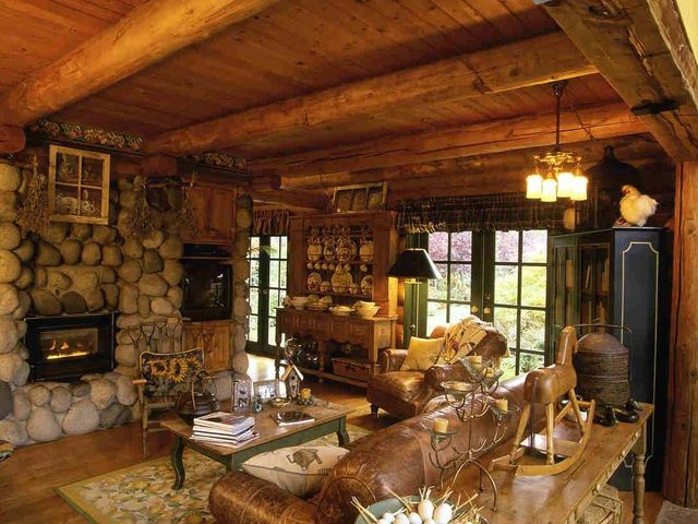 Воздушность и простота деревенского интерьера