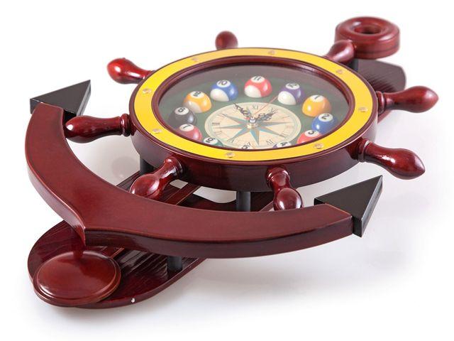 массивные бильярдные часы