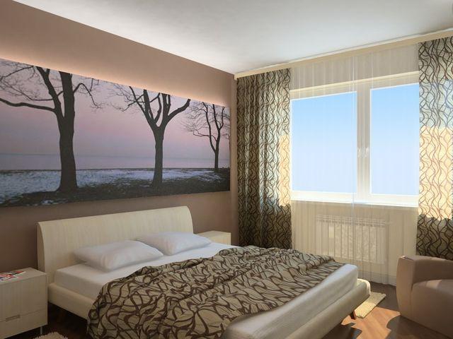 стильная комната размером 8 кв. метров