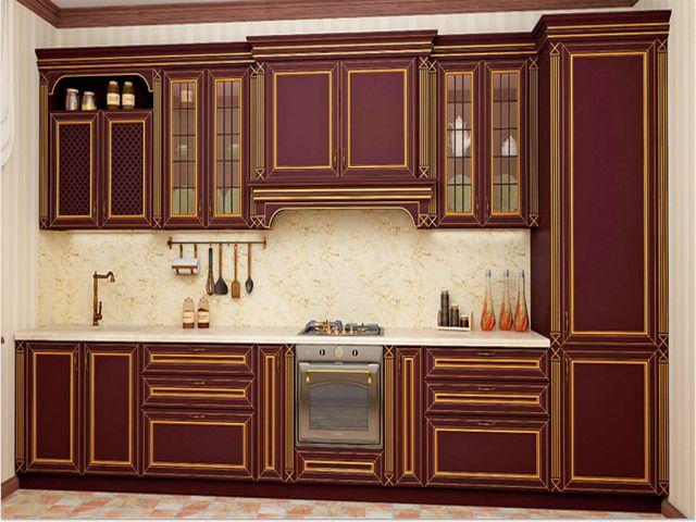 кухонные фасады из МДФ панелей