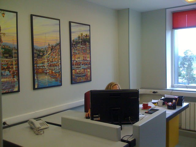 фотокартина в офисе