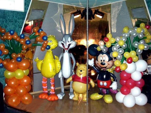 надувные игрушки для праздника