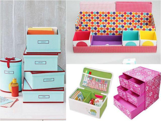 Очаровательные коробочки для хранения мелочей