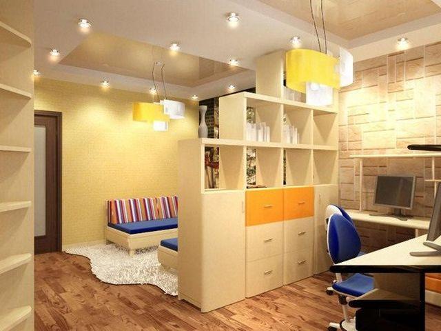 шкаф для разделения комнаты на зоны
