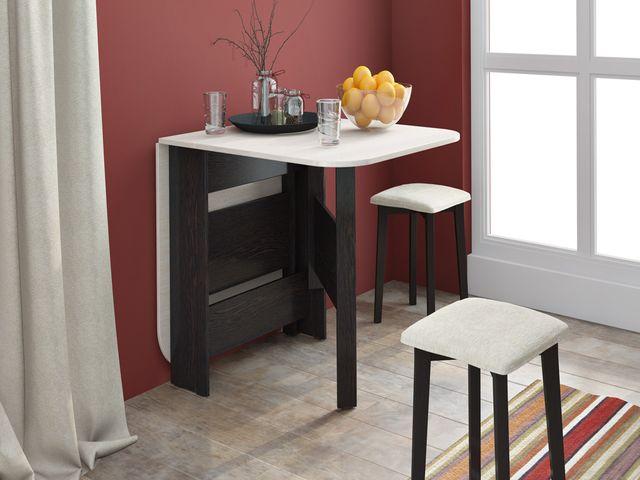 раскладной стол в интерьере
