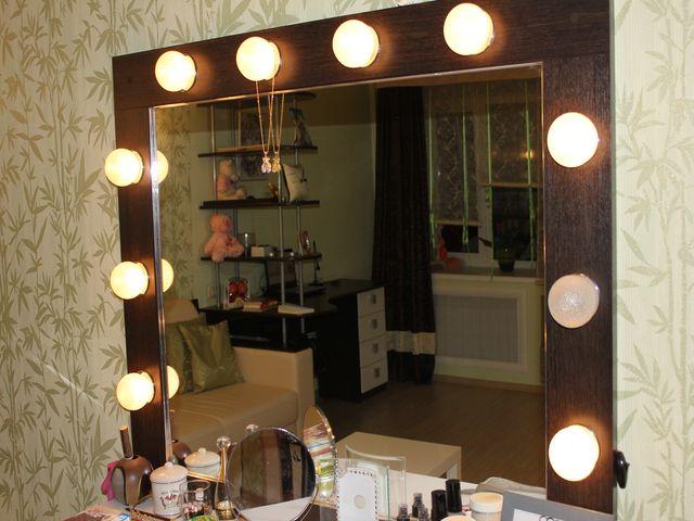 светильники на зеркале