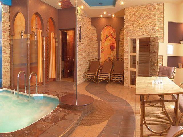 стильная баня